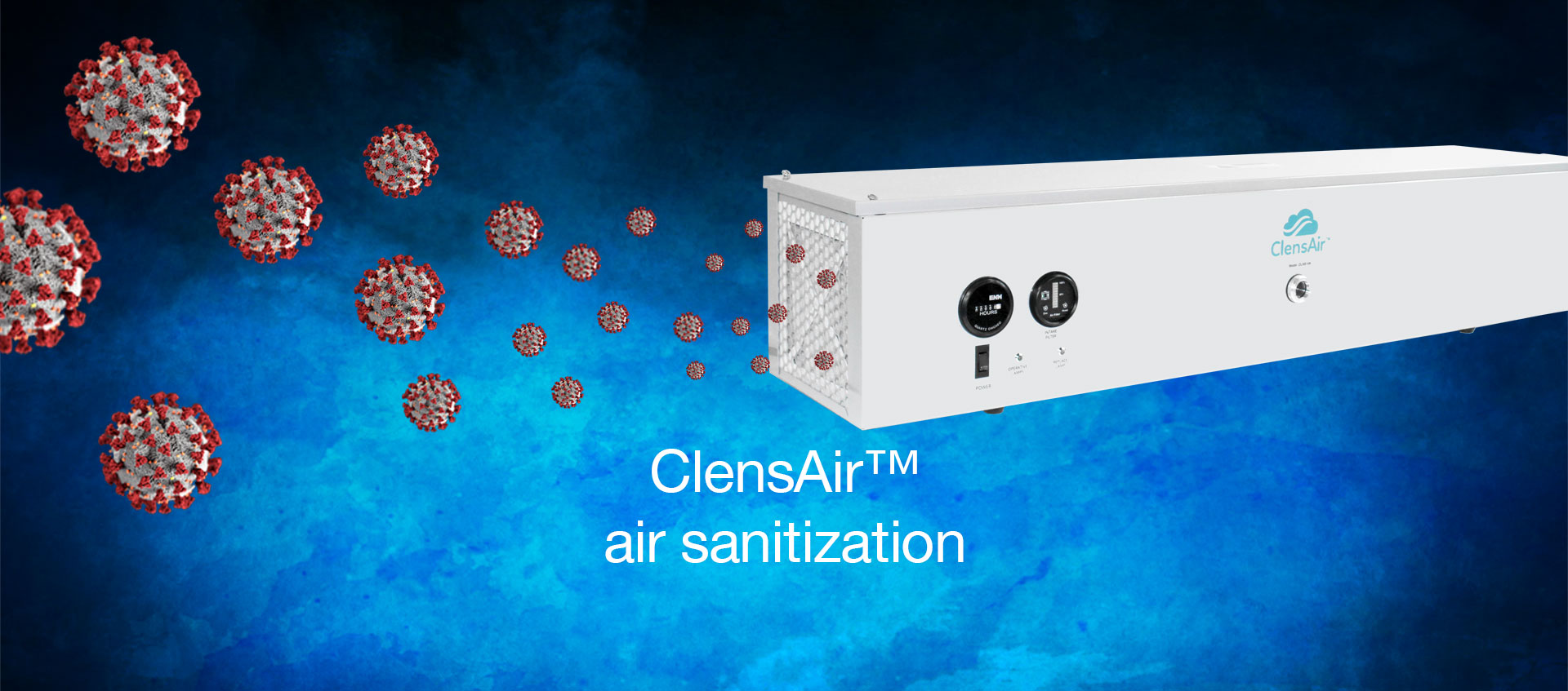 ClensAir™ air sanitization