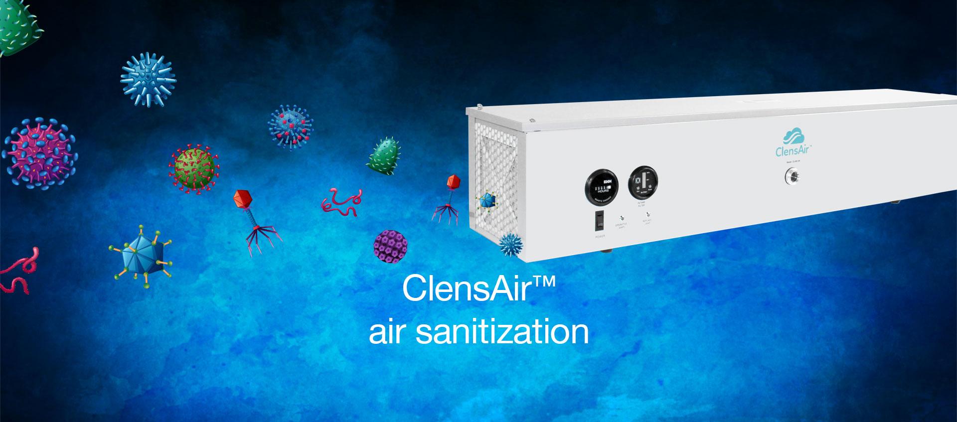 ClensAir™ air sanitization