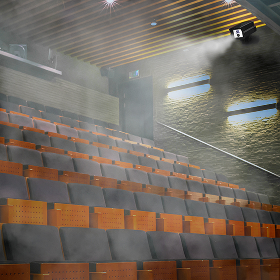 Aguatronics to sanitize theaters and lecture halls